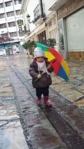 Mimí y su paraguas
